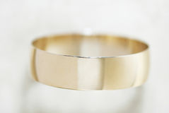 Wedding Band, Extreme Macro Stock Image