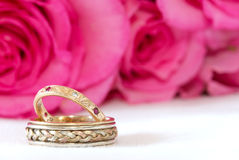 Wedding bands royalty free stock image