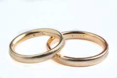Wedding bands Stock Photos