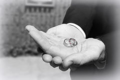 Wedding Bands2 Royalty Free Stock Images