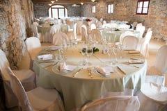 Wedding Bankett Lizenzfreies Stockfoto