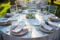 Wedding Bankett Stockbilder