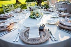 Wedding Bankett Lizenzfreies Stockbild