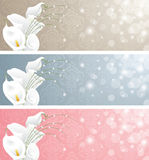 Wedding banners. Stock Photo