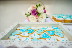 Wedding and Banquet Cake Royalty Free Stock Image