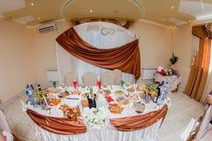 Wedding Banquet Decoration Stock Photos