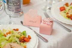 Wedding Banquet Decoration Stock Images