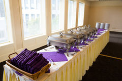 Wedding Banquet Feast Setup Stock Images