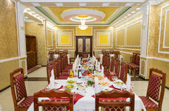 Wedding banquet hall Royalty Free Stock Photos
