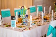 Wedding Banquet Interior Royalty Free Stock Photo