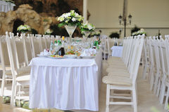 Wedding Banquet Royalty Free Stock Image