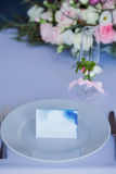 Wedding banquet, small restaurant in Maritime style Stock Image