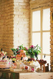 Wedding banquet Stock Images