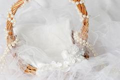Wedding basket Stock Photos