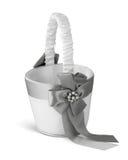 Wedding basket Stock Image