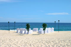 Wedding on Beach Royalty Free Stock Photography