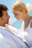 Wedding on the beach Stock Photo