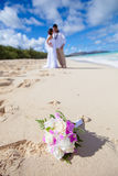 Wedding on the beach Stock Image