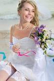 Wedding on beach Stock Photography