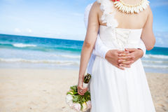 Wedding on the beach Stock Photo