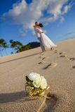 Wedding on the beach Stock Images