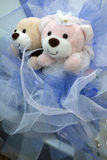 Wedding Bears Royalty Free Stock Photography