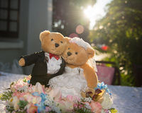 Wedding Bears Stock Photos