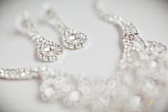 Wedding Beautiful adornment Royalty Free Stock Photography