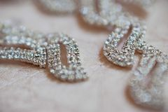 Wedding Beautiful adornment Stock Image