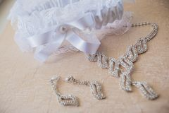 Wedding Beautiful adornment Royalty Free Stock Photos