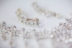 Wedding Beautiful adornment Royalty Free Stock Photography