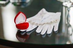 Wedding Beautiful adornment Stock Photography