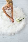 Wedding. Beautiful bride Stock Images