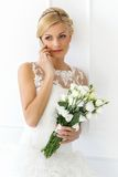 Wedding. Beautiful bride Stock Images