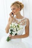 Wedding. Beautiful bride Royalty Free Stock Photo