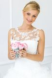 Wedding. Beautiful bride Stock Image