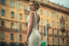 Wedding. Beautiful bride. Royalty Free Stock Images