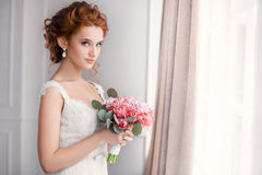 Wedding. Beautiful bride royalty free stock images
