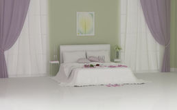 Wedding bedroom Stock Image