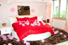 Wedding bedroom Stock Photos