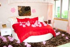 Wedding bedroom Stock Photos