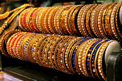 Wedding bells around:bangles Stock Images
