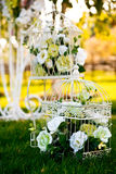 Wedding Blumendekoration Lizenzfreies Stockbild
