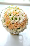 Wedding boquet. On the table Stock Image