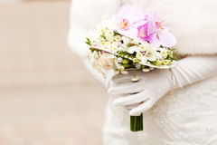 Wedding boquet Stock Images