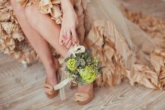 Wedding boudoir Stock Image