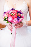 Wedding bouq royalty free stock photo