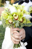 Wedding bouque Stock Images