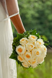 Wedding Bouquet. Bridal with a Wedding Bouquet Royalty Free Stock Image