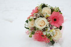 The Wedding bouquet. Royalty Free Stock Images